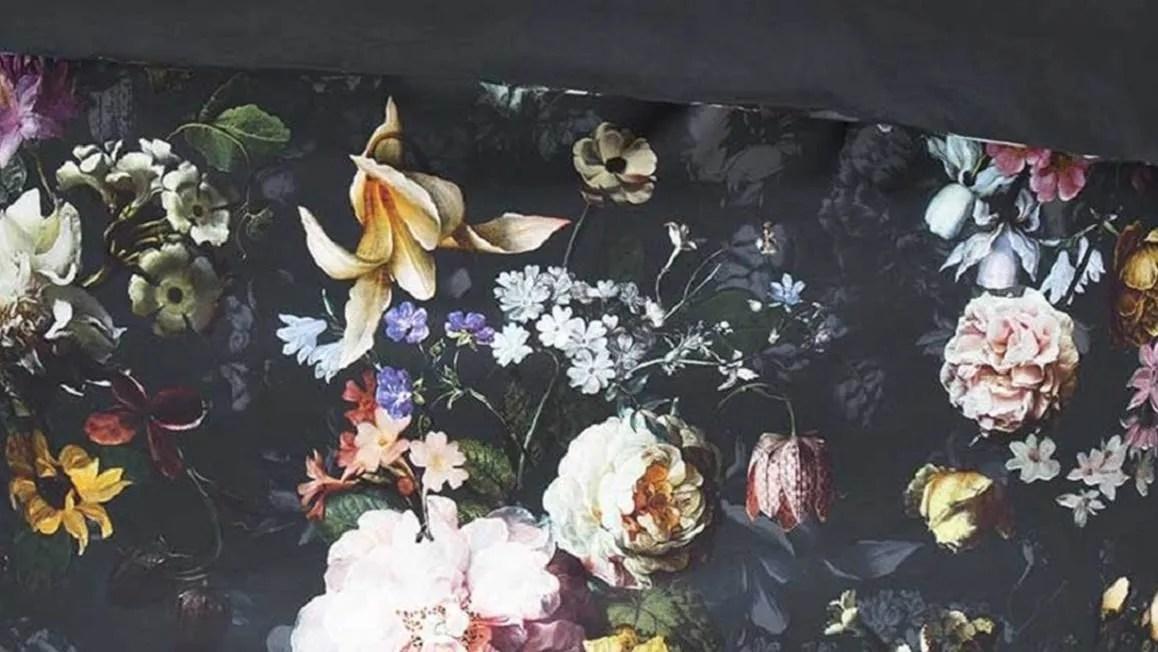 Essenza Fleur dekbedovertrek  Nightblue  Smulderstextielnl