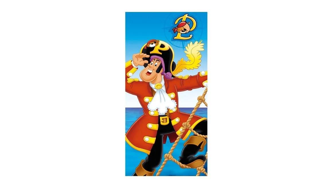 Piet Piraat strandlaken  Multi  Smulderstextielnl