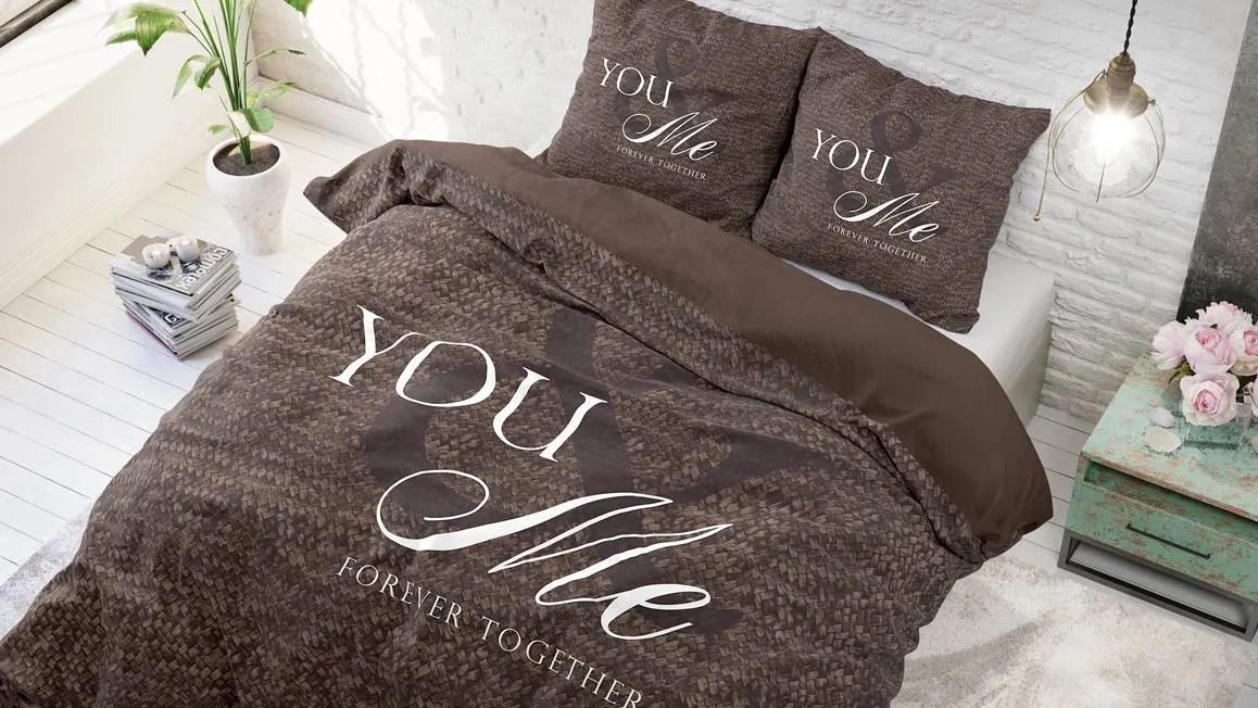 Dreamhouse Bedding Love for you and me dekbedovertrek