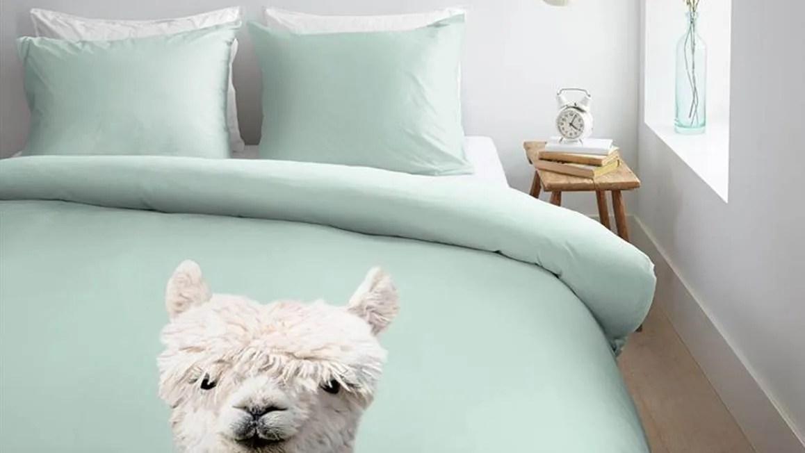 Ambiante Alpaca dekbedovertrek  Green  Smulderstextielnl