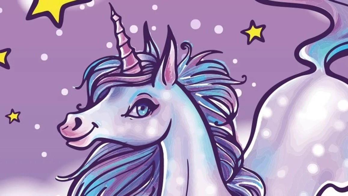 Unicorn strandlaken  Multi  Smulderstextielnl