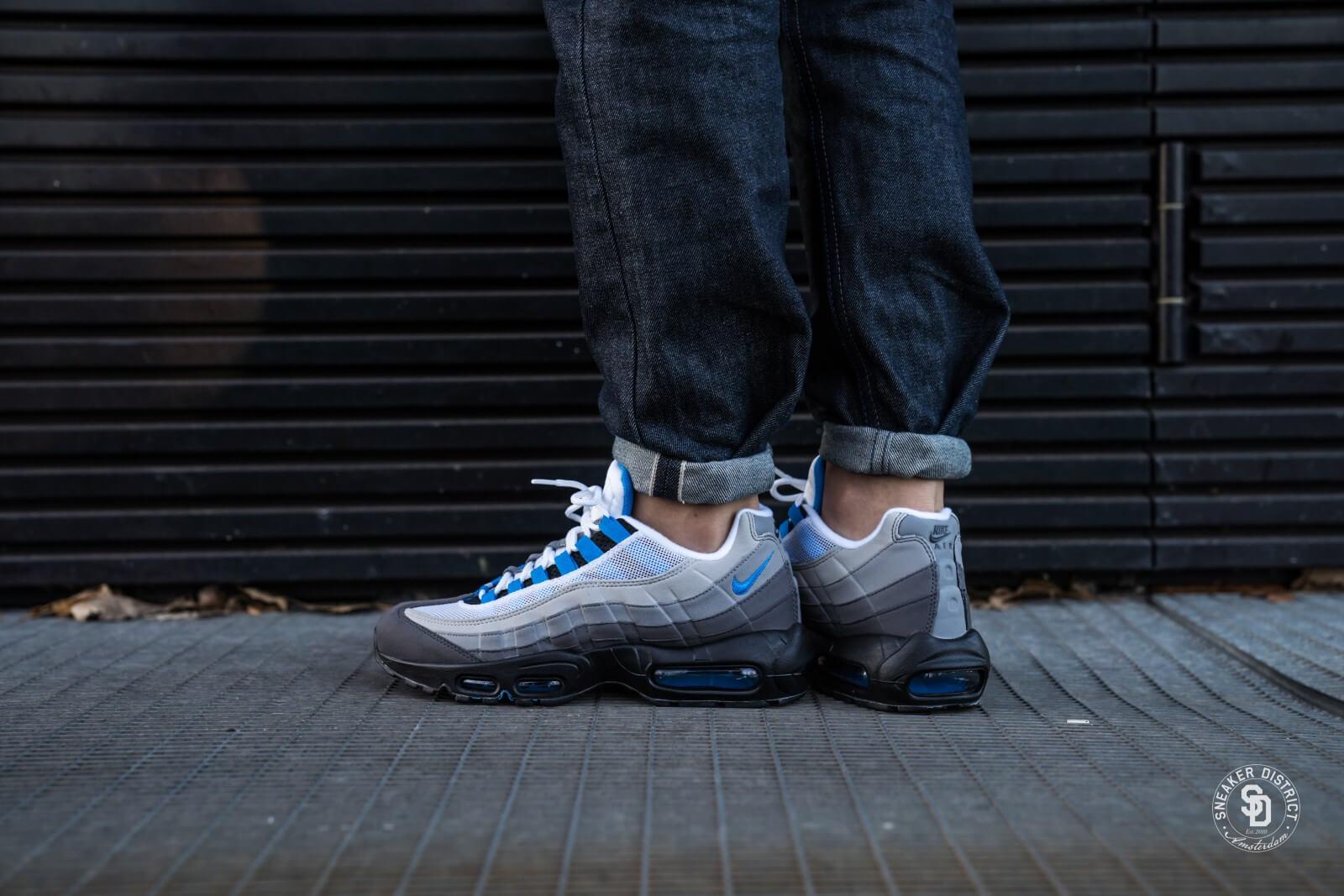 nike air max 95 white crystal blue