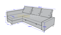 Sofa Bed Dimensions Sofa Bed Size Hereo - TheSofa