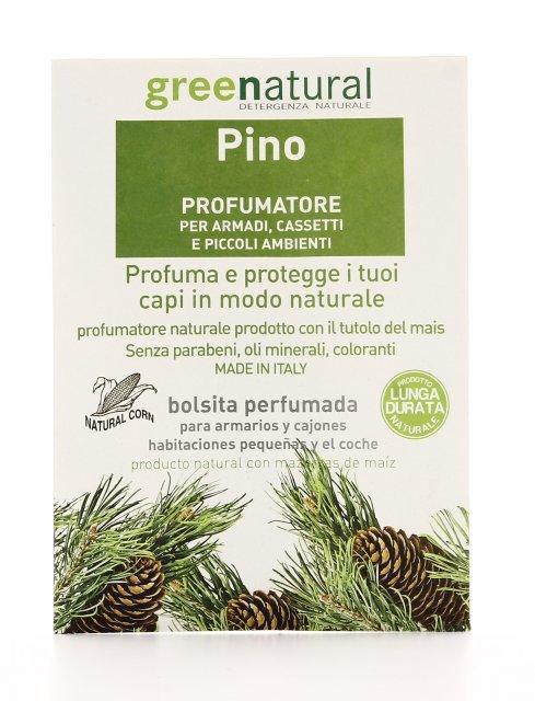 Pino  Profumatore per Armadi Cassetti e Piccoli Ambienti  Greenatural  SorgenteNaturait