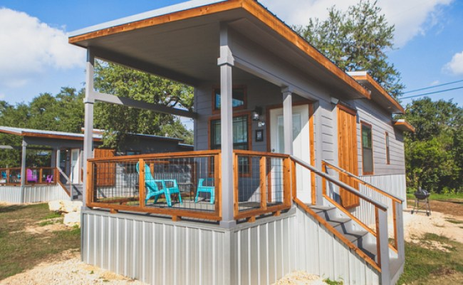 Tiny House Rental In Texas Hill Country Mystic Quarry