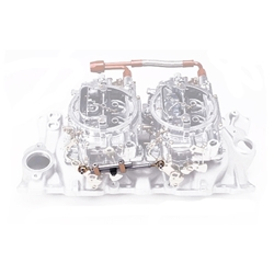 Edelbrock Small Block Chevy Dual Quad Intake/Carburetor