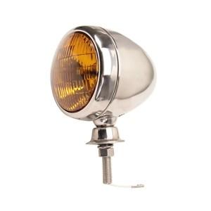 Stainless Steel Tear Drop 12 Volt Fog Light Amber Lens | eBay