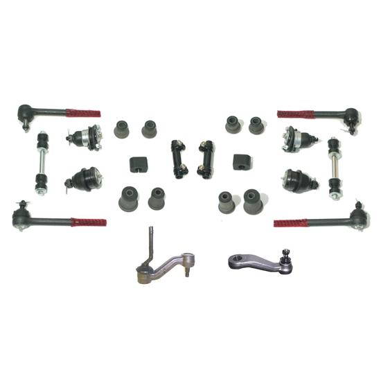 Front Power Steering/Suspension Bushing Kit, 68-74 Nova/68