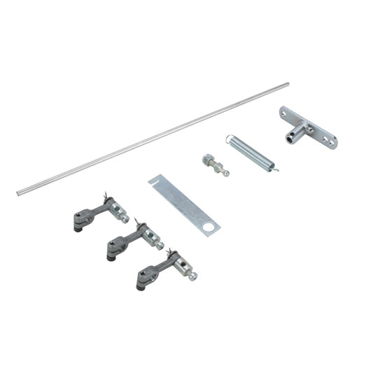 Edelbrock 1034 94 Carb Throttle Linkage Rod Kit, Triple