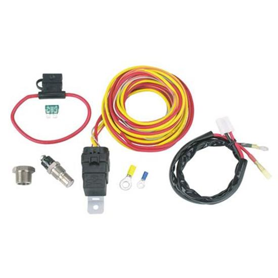 Double Pass Radiator Cooling Fan Relay Kit Wiring
