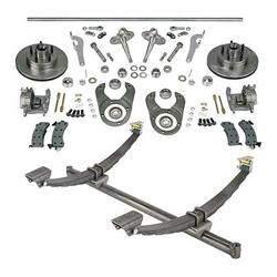 48 In Gasser Ford Axle/Spindle/Brake Kit 5 on 4-1/2 Mopar