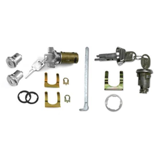 Classic Auto Locks CL-337 Complete Door Lock Kit for Nova