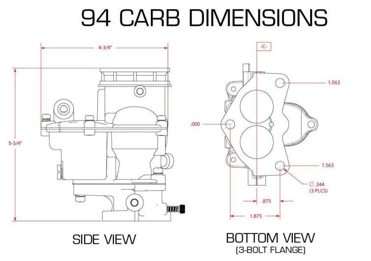Edelbrock Carburetors Vacuum Port Diagram