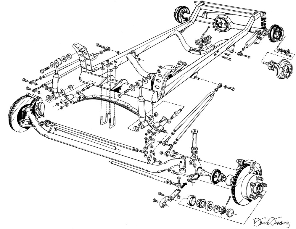 Fuse Box Diagram On 1923 T Bucket Front Suspension Diagram For Of