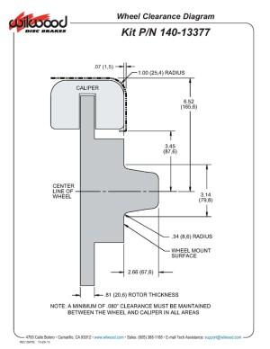 Wilwood 14013377D DPDB 11 Front Brake Kit, 197480