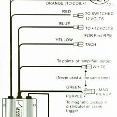 Msd Two Step Wiring Diagram Ford 8n Alternator Procomp Pc6al-2 Multi-spark Cdi Ignition Box
