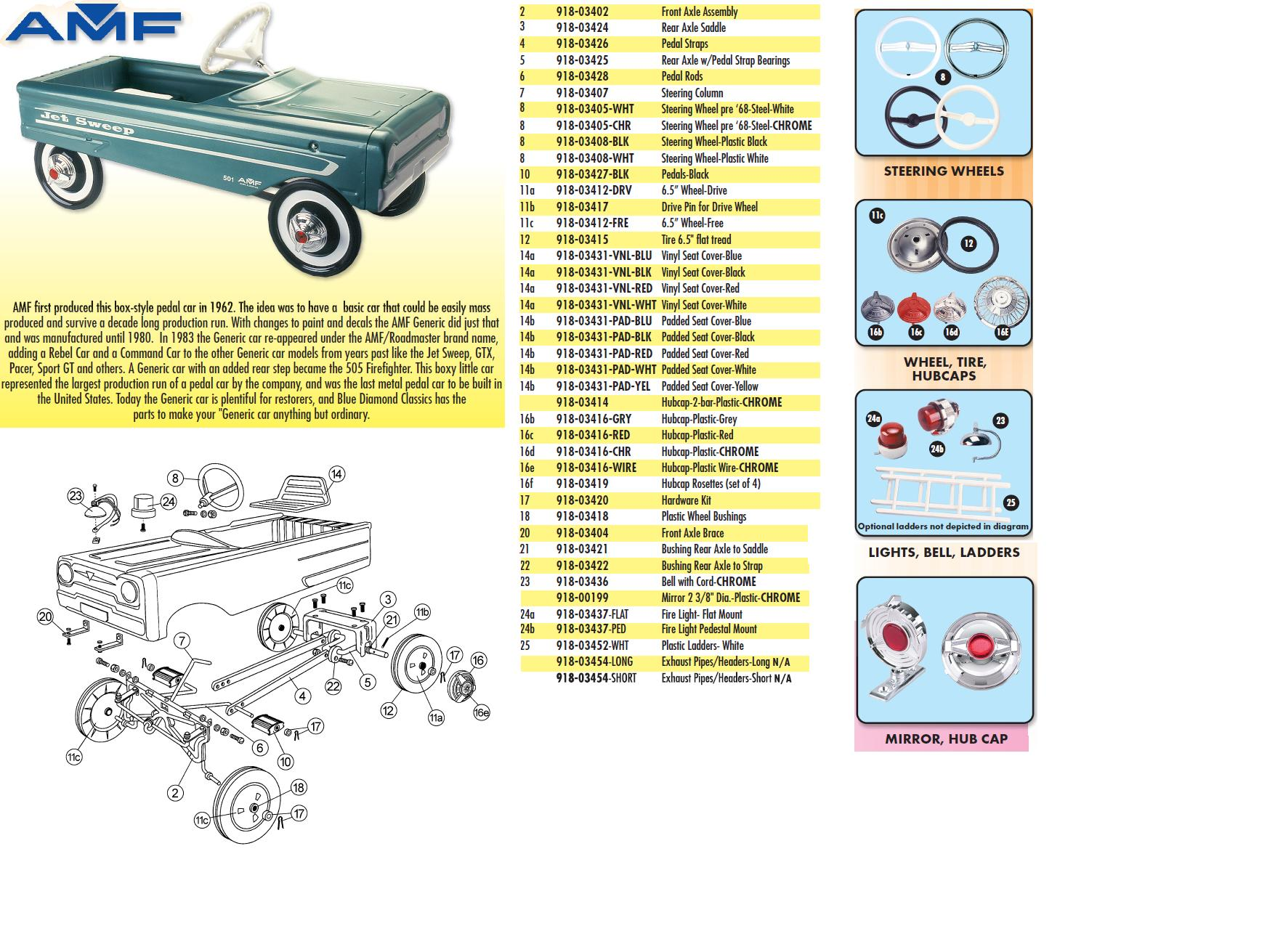 hight resolution of exploded parts view for amf generic