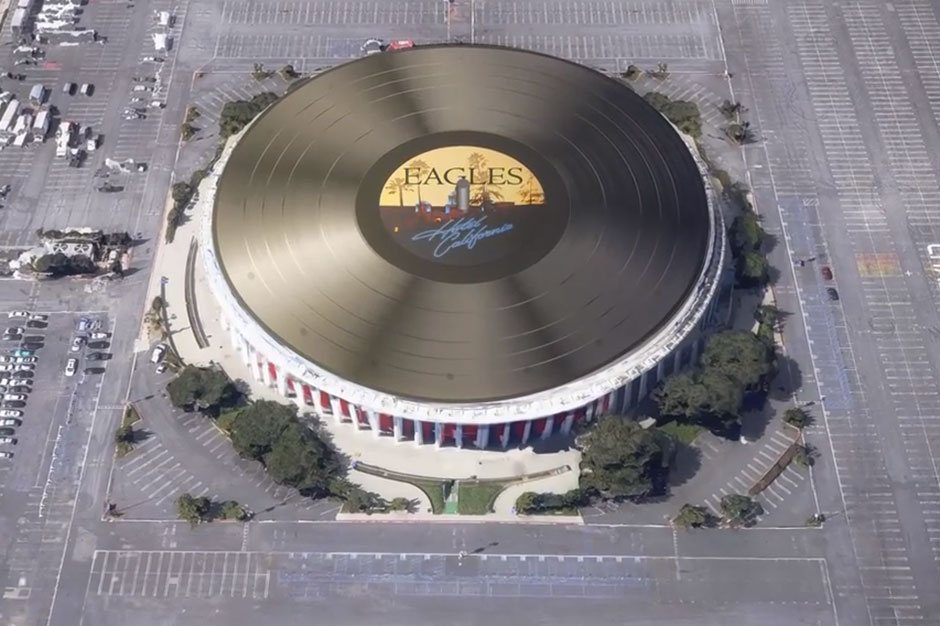 The Eagles 407Foot Hotel California Is the Worlds