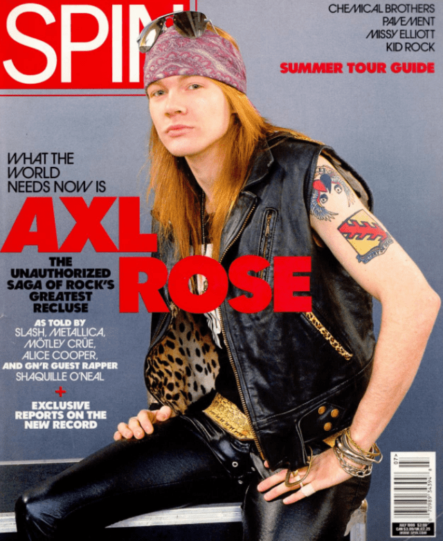 Axl Rose Tattoos