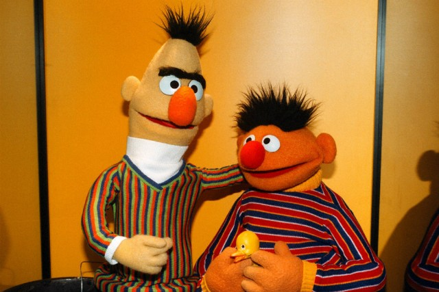 Bert And Ernie In Bed