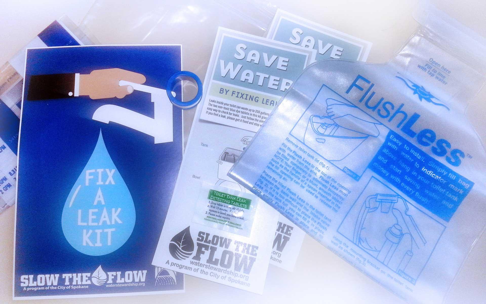 Fix a Leak to Save Water  Money  City of Spokane