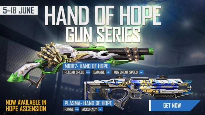 New Hand of Hope gun series in Free Fire: Price, how to get, and more details