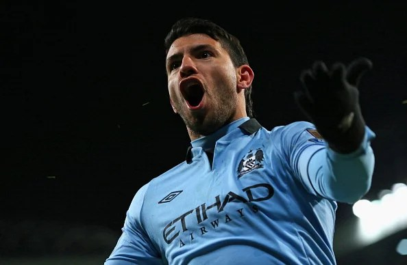 Sergio Aguero: Part of Manchester City's fabulous forward-line