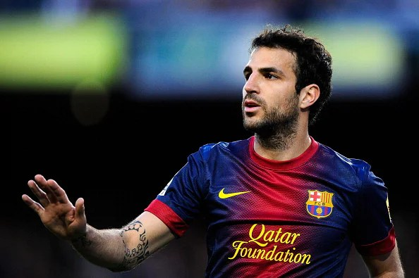 Barcelona have already rejected two bids for Cesc Fabregas from Manchester United. (Getty Images)