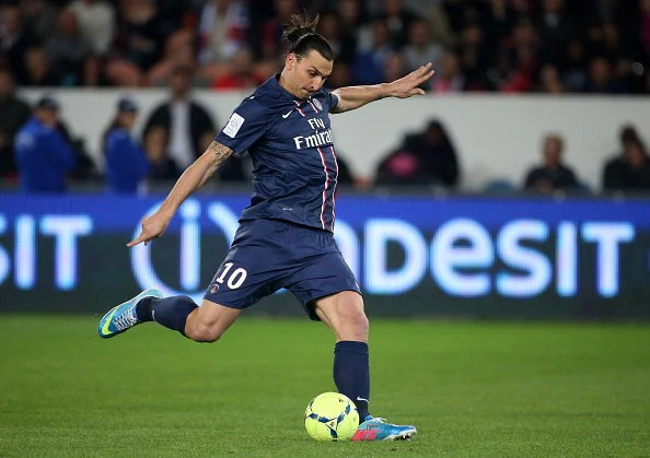 Zlatan Ibrahimovic: top-scorer in Ligue 1 in 2012-13