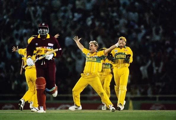 World Cup 1996 Semi Final: Australia v West Indies