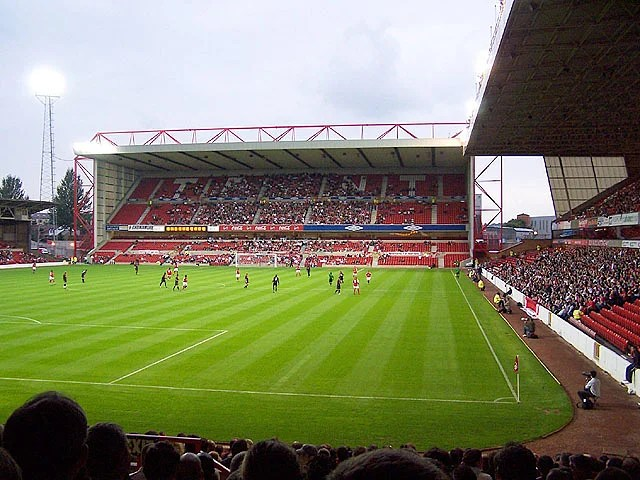 Hartlepool at Nottingham Forest