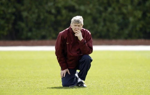 Arsenal's French manager Ars?ne Wenger w