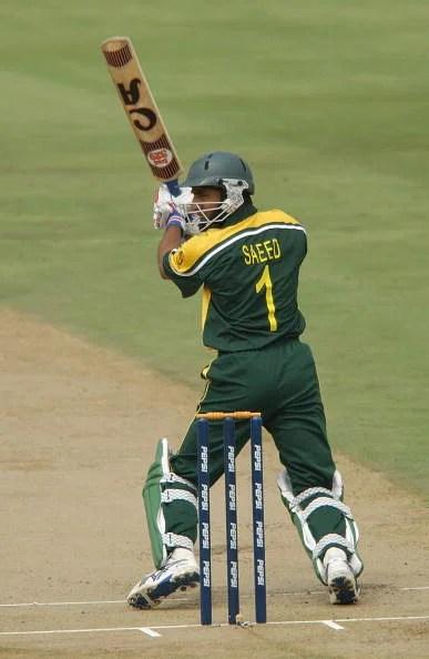 Saeed Anwar of Pakistan