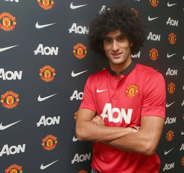 Manchester United Unveil new Signing