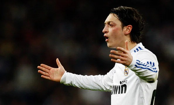 Mesut Ozil dexterously pulled strings for Real Madrid, and was heavily influential in his former club's title-winning run in 2011-12.