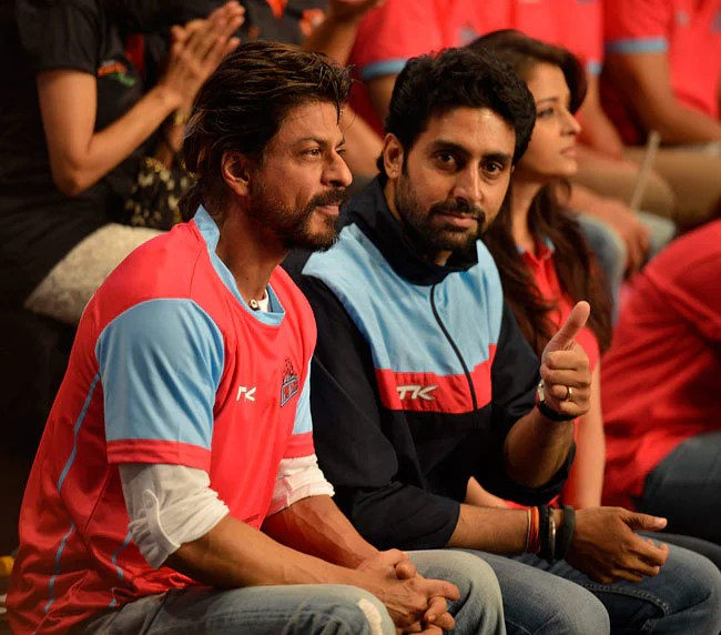 Image result for abhishek bachchan at kabaddi league