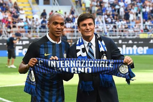 Image result for inter milan joao mario and barbosa