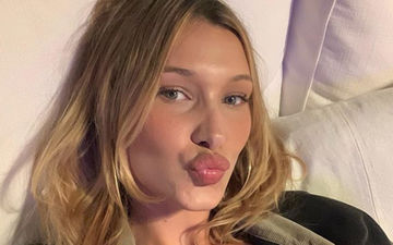 Bella Hadid Goes Braless And Shows Off Her Essentials In A Sheer Top Post Her Stint On-Ramp for Burberry