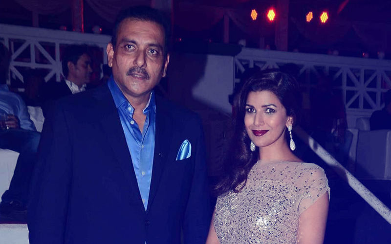 Image result for ravi shastri and nimrat kaur
