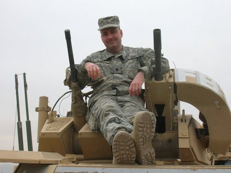 Iraq war veteran and author Kevin E Lake