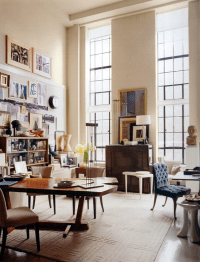 How To Decorate A Room With High Ceilings  DESIGNED w ...