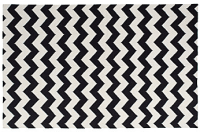 black and white zigzag rug | Roselawnlutheran