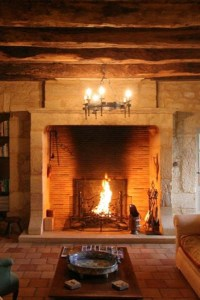 15 Fireplaces So Large, So Grand, You Can (Almost) Walk ...