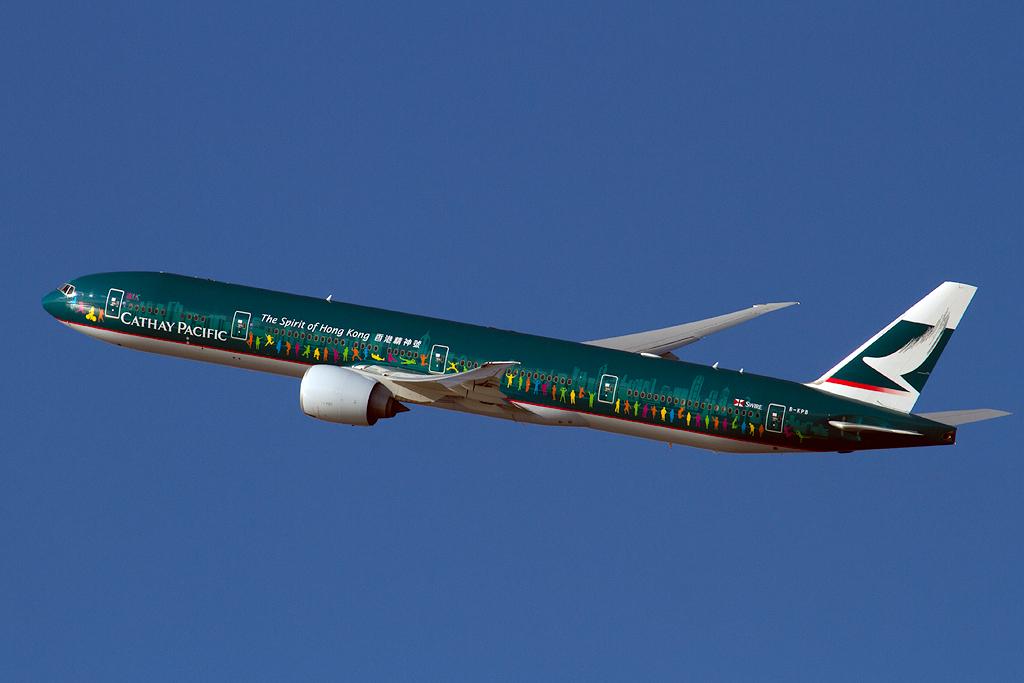 Cathay PacificSpirit Of Hong Kong SouthpawCaptures