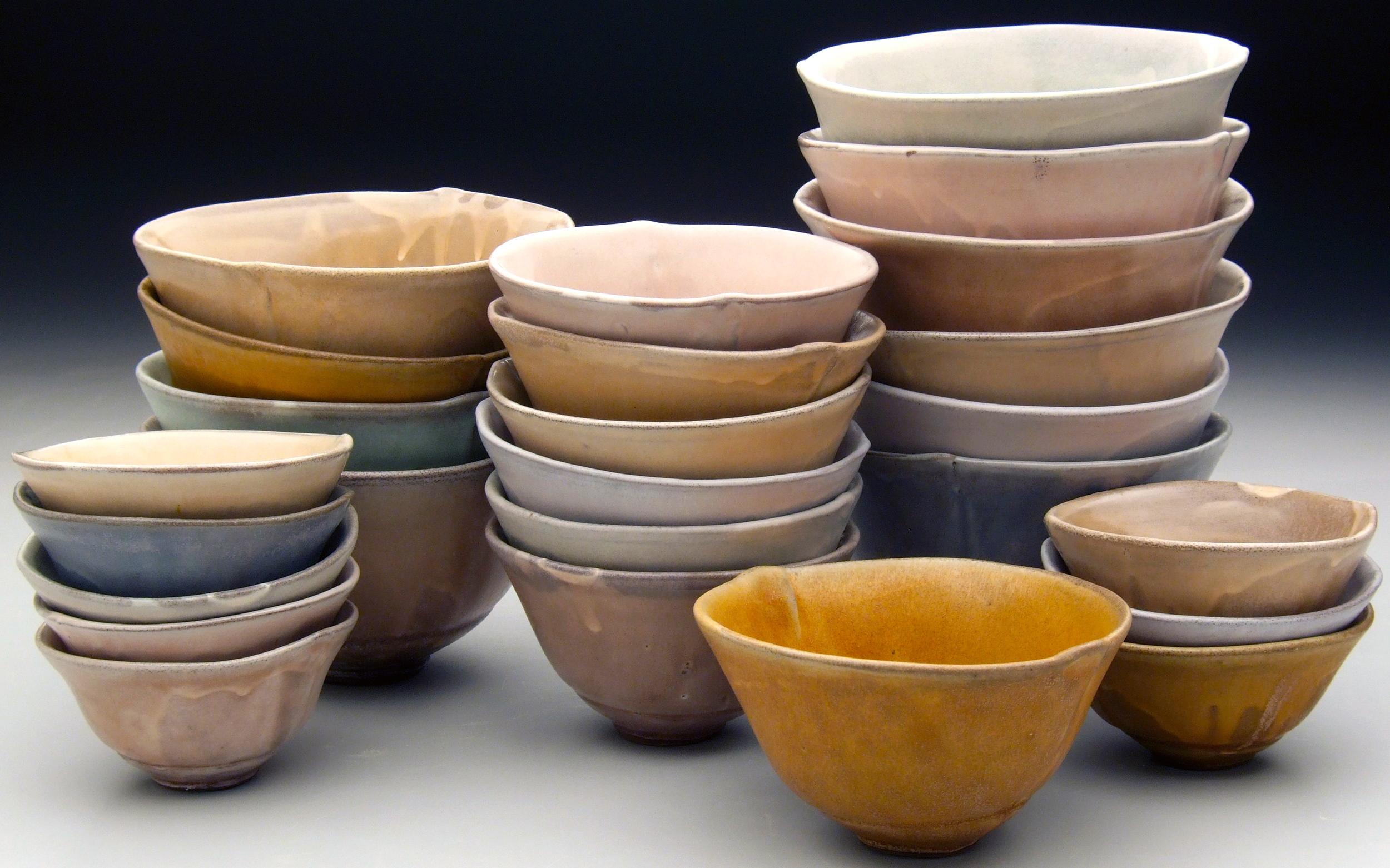 bowl stacks, 2009
