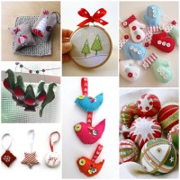 Christmas Tree Decorations Sewing | Christmas Decorating