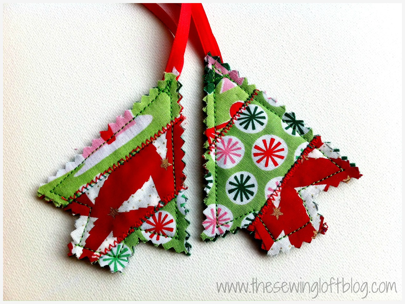 Quilted Christmas Tree Skirt Tutorial