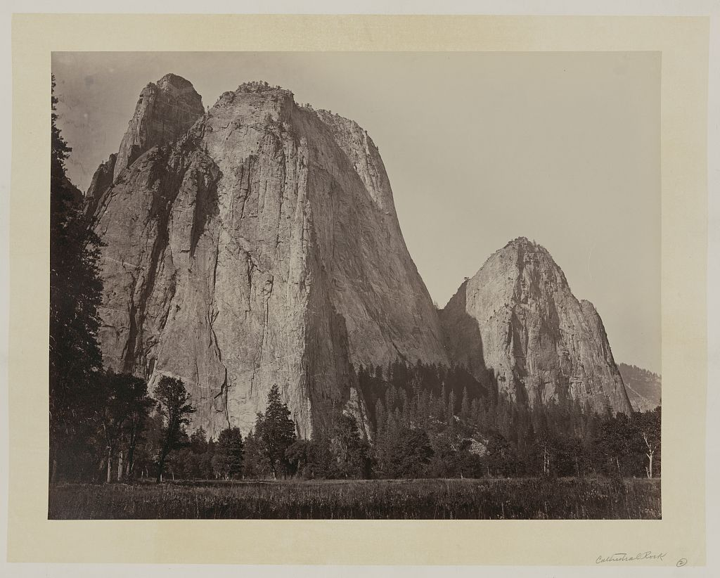 Cathedral Rock, Yosemite Valley, California