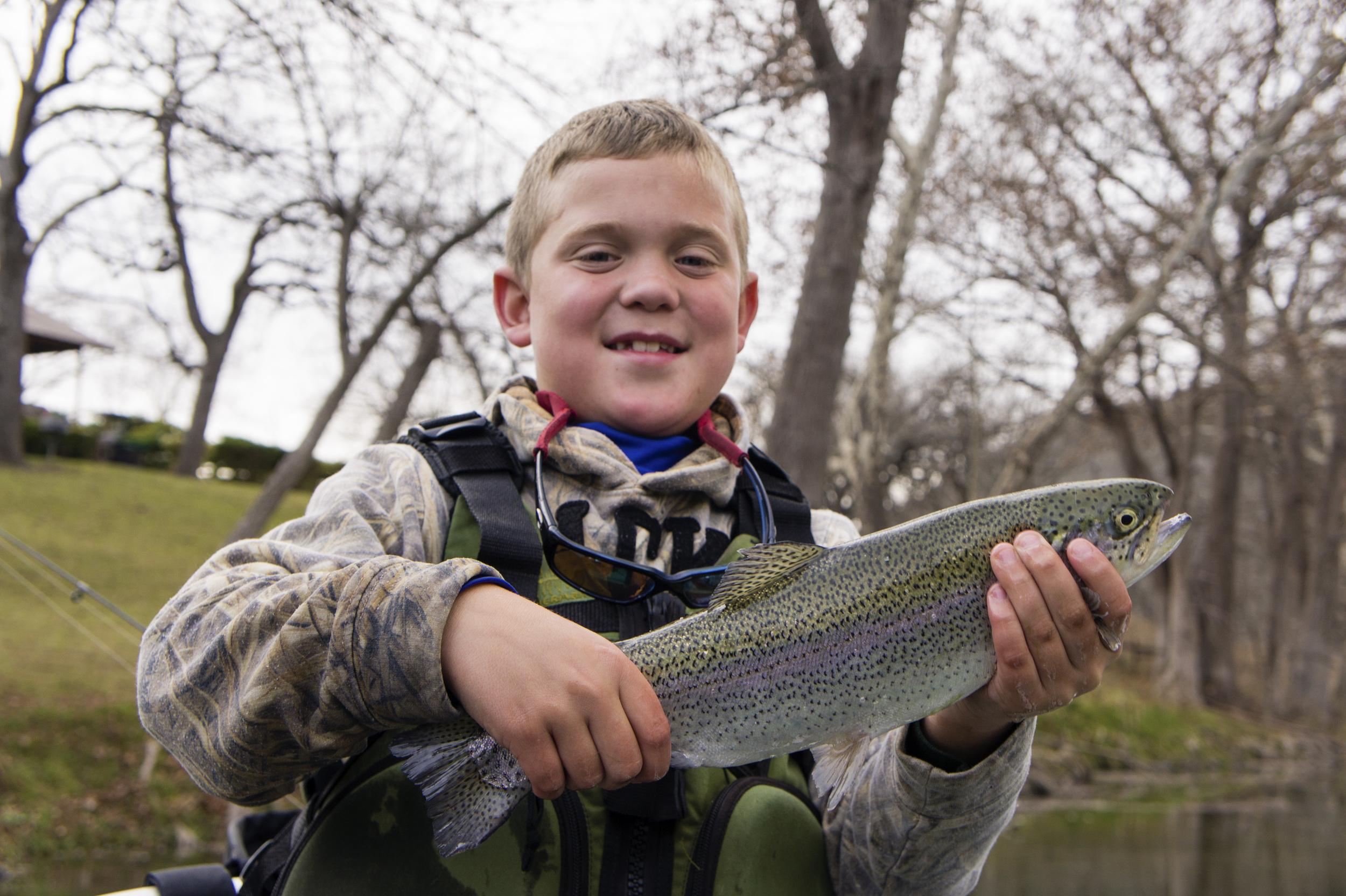 Fishing reports alvin dedeaux fly fishing for Guadalupe river trout fishing