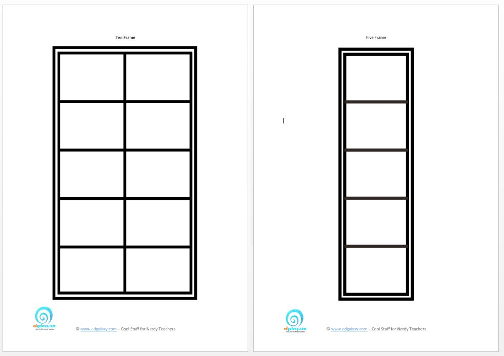 Teaching Paper & Printables — Edgalaxy: Cool Stuff for